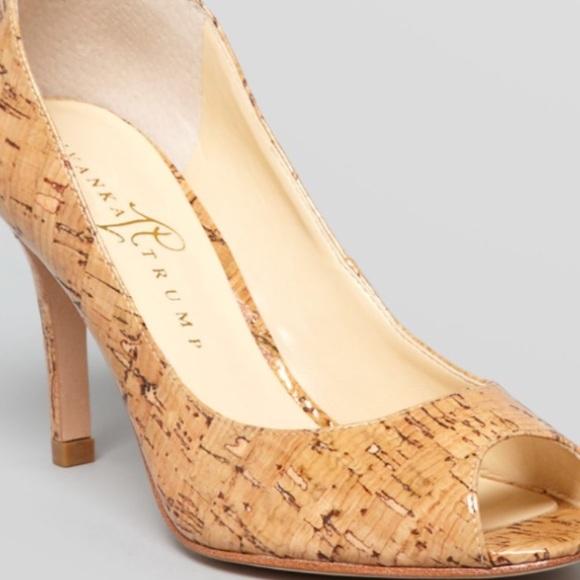 02f196be0fe Ivanka Trump Shoes - Ivanka Trump Cleo Pump in Cork